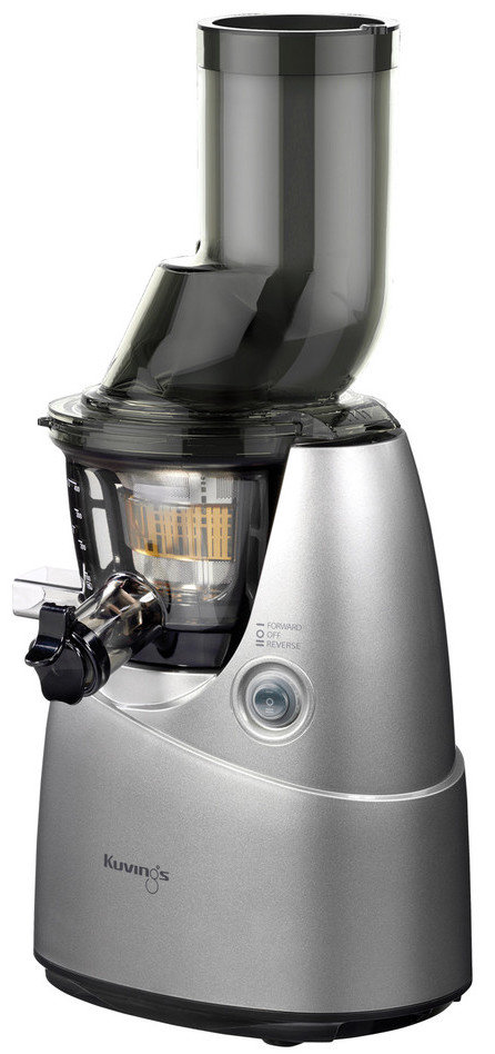Kuvings Whole Slow Juicer B6000 Silber : Kuvings Whole Slow Juicer B6000S - vertical Single Auger Juicer with 3