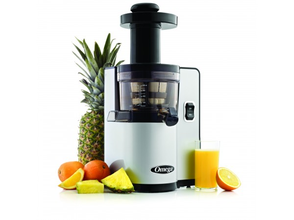 Omega vERT vSJ843 vertical vSJ843 silver juicer- Latest vertical Slow Juicer from Omega.